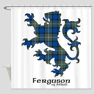 Lion - Ferguson of Atholl Shower Curtain