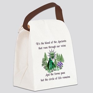 Blood Of The Ancients Canvas Lunch Bag