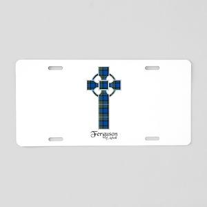 Cross - Ferguson of Atholl Aluminum License Plate