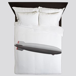Blimp Airship Queen Duvet