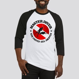 Master Diver (Round) Baseball Jersey