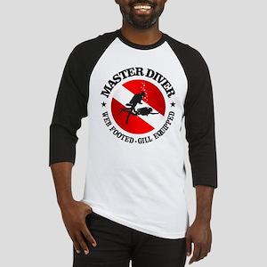 Master Diver (Round) Baseball Jersey