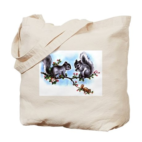 SQUIRRELY SQUIRRELS Tote Bag