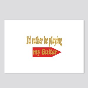 Rather Be Playing Guitar Postcards (Package of 8)