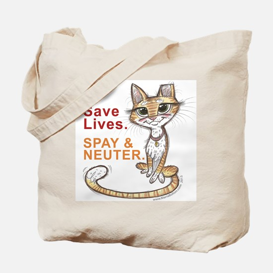 Cute Stray cats Tote Bag