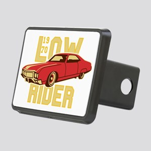 old school Lowrider Rectangular Hitch Cover
