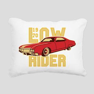old school Lowrider Rectangular Canvas Pillow