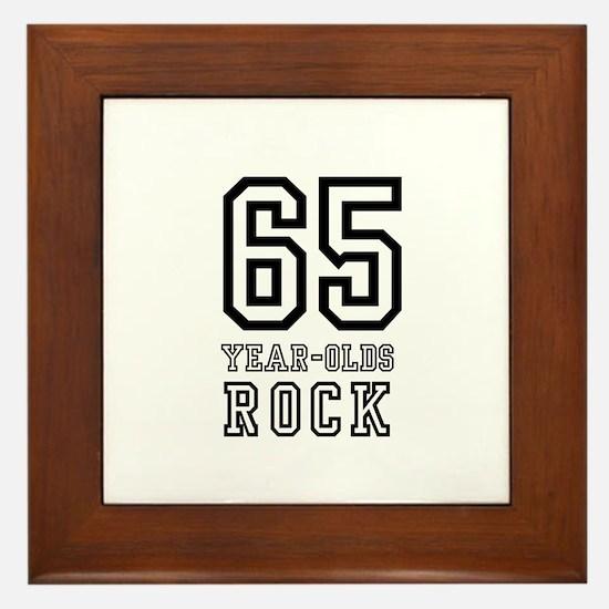 65  Framed Tile