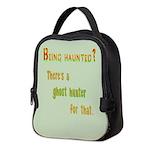 Being Haunted? Ghost Hunter App Neoprene Lunch Bag