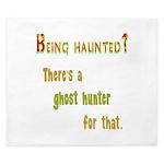 Being Haunted? Ghost Hunter App King Duvet
