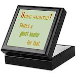 Being Haunted? Ghost Hunter App Keepsake Box