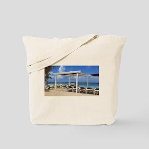 Curacao beach Tote Bag