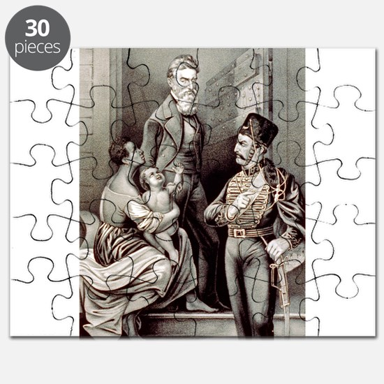 John Brown--the martyr - 1870 Puzzle
