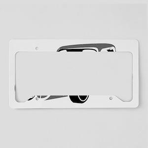 Hot Rod  License Plate Holder