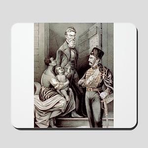 John Brown--the martyr - 1870 Mousepad