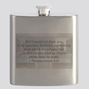 1 Thessalonians 4:13 Flask