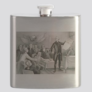 John Hancock's defiance - July 4th 1776 - 1876 Fla