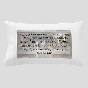 James 1:17 Pillow Case