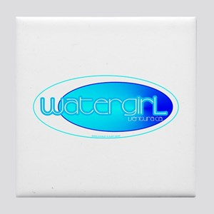 Watergirl Tile Coaster