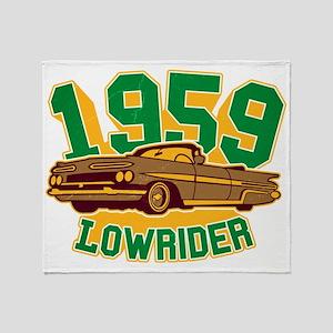 59er Lowrider Throw Blanket