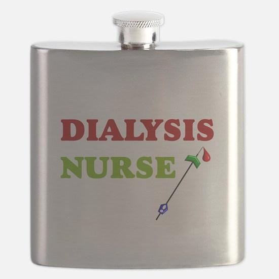 Dialysis nurse A Flask