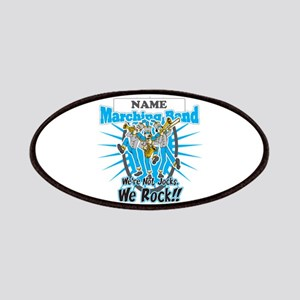 Marching Band Rocks(Light Blue) Patches