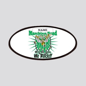 Marching Band Rocks(Green) Patches