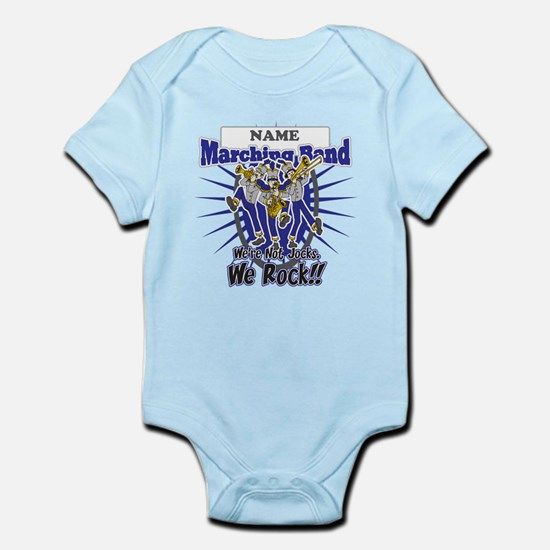 Marching Band Rocks(Blue) Infant Bodysuit