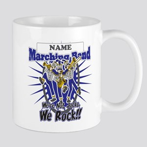 Marching Band Rocks(Blue) Mug