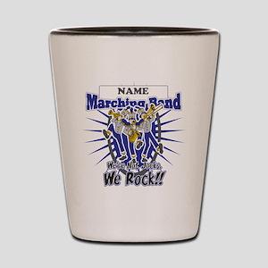 Marching Band Rocks(Blue) Shot Glass