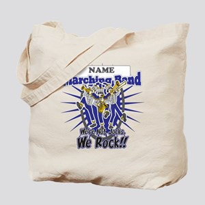 Marching Band Rocks(Blue) Tote Bag