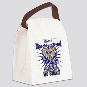 Marching Band Rocks(Blue) Canvas Lunch Bag