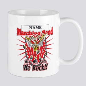 Marching Bands Rock(Red) Mug