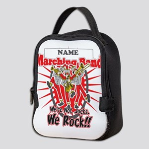 Marching Bands Rock(Red) Neoprene Lunch Bag