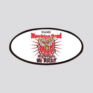 Marching Bands Rock(Red) Patches