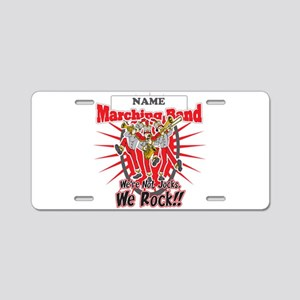 Marching Bands Rock(Red) Aluminum License Plate