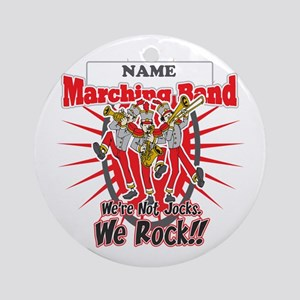 Marching Bands Rock(Red) Ornament (Round)