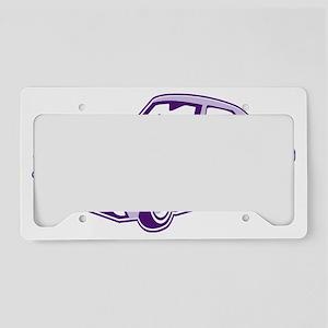 Cartoon-Lowrider License Plate Holder