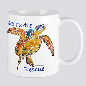 Sea Turtle Rescue Mug