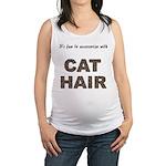 FIN-cat-hair-access... Maternity Tank Top