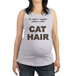 FIN-outfit-cat-hair... Maternity Tank Top