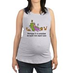 too-many-cats Maternity Tank Top