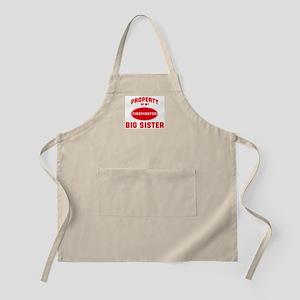 BIG SISTER Firefighter-Proper BBQ Apron