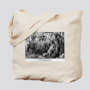 The puzzled fox - Puzzle Picture - 1872 Tote Bag