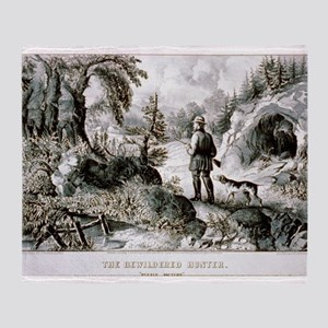 The bewildered hunter - Puzzle picture - 1872 Thro