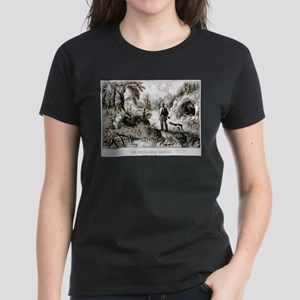 The bewildered hunter - Puzzle picture - 1872 T-Sh