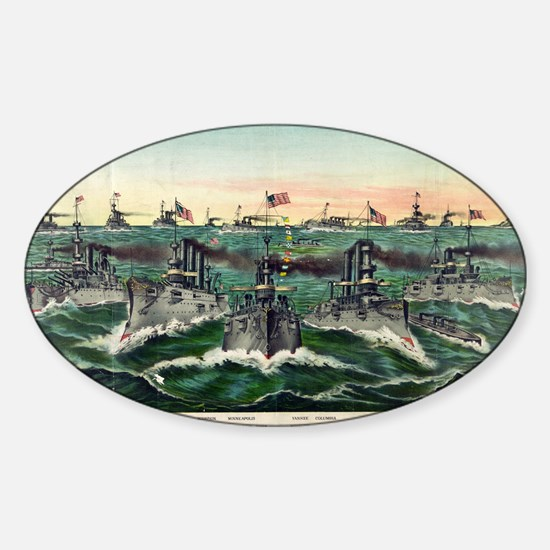 Our victorious fleets in Cuban waters - 1898 Stick
