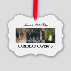 Carlsbad Caverns Americasbesthist Picture Ornament