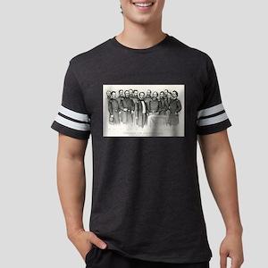 Sherman and his generals - 1865 Mens Football Shir