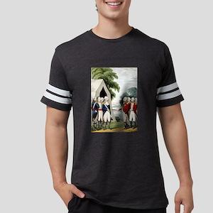 Surrender of Cornwallis - 1845 Mens Football Shirt